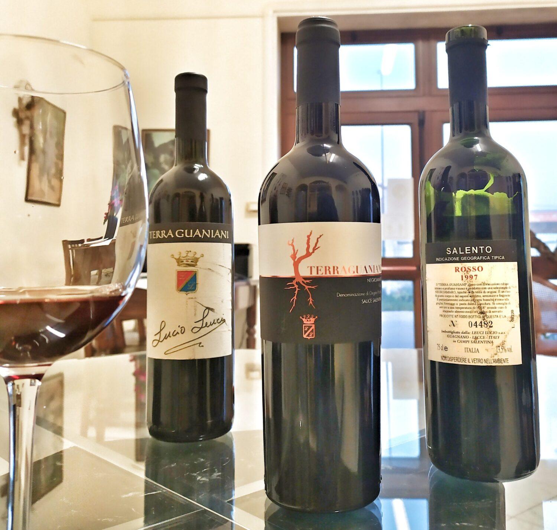 invecchiamento vino negroamaro